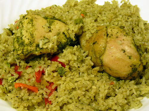 Recipes of Peru's Food -Arroz con Pollo :: Peru Breathtaking Trips ...